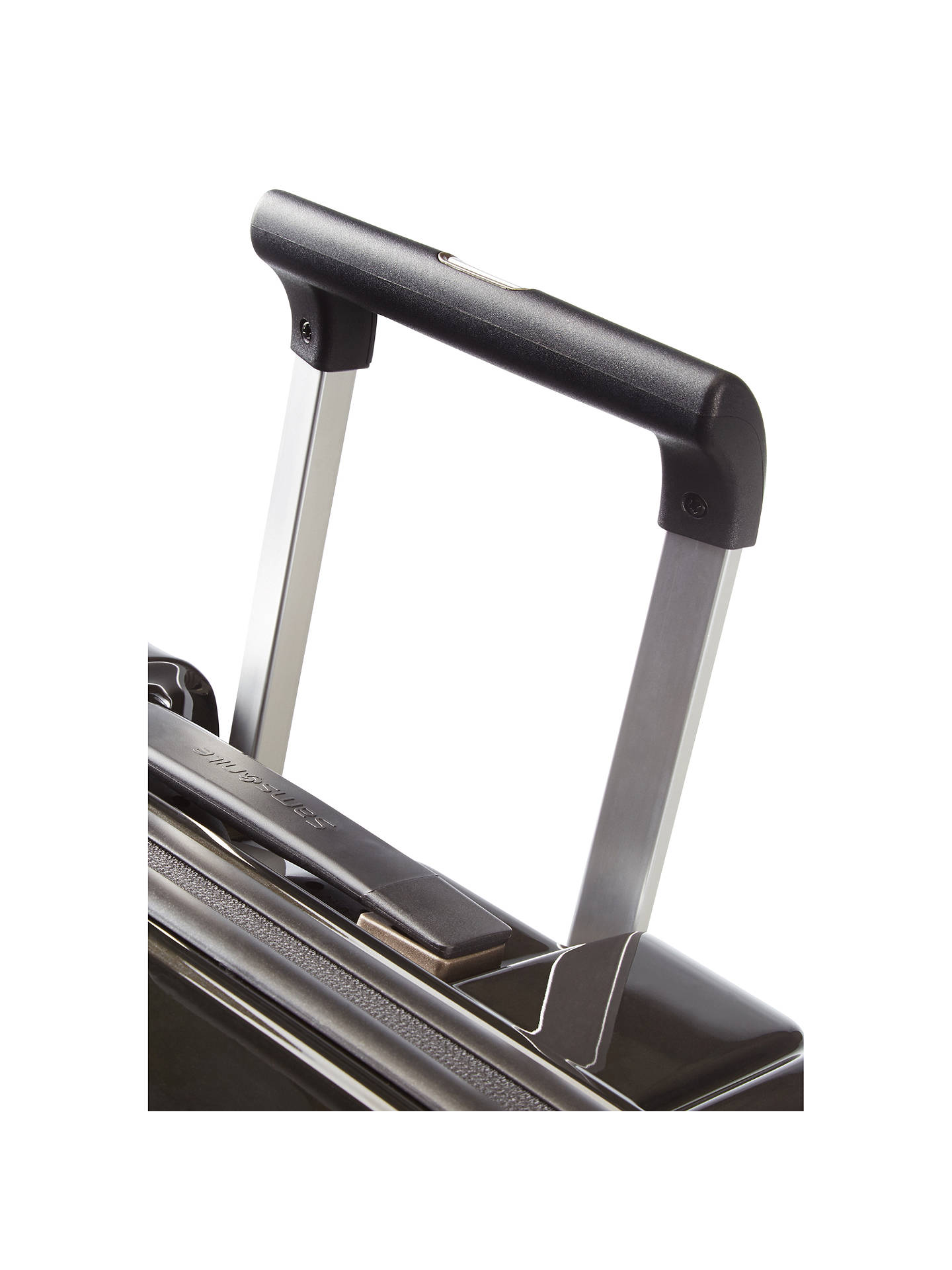 BuySamsonite Neopulse 75cm Spinner 4-Wheel Large Suitcase, Metallic Black Online at johnlewis.com