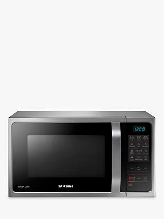 Samsung MC28H5013AS Freestanding Microwave Oven, Silver