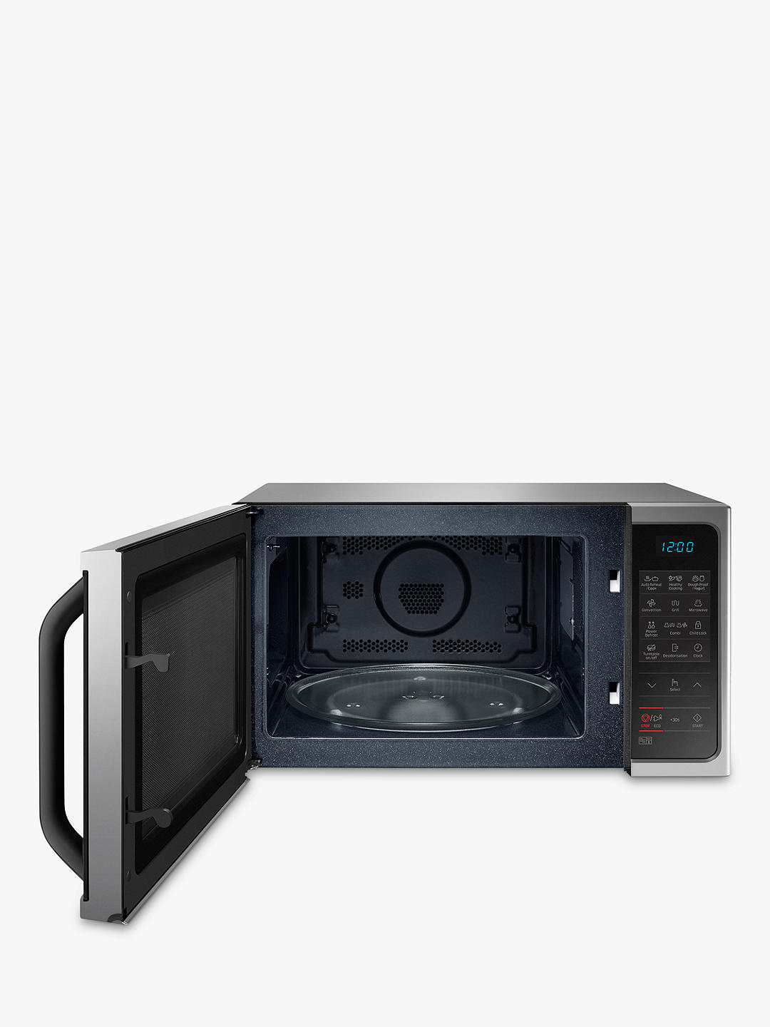 Buy Samsung MC28H5013AS Freestanding Microwave Oven, Silver Online at johnlewis.com