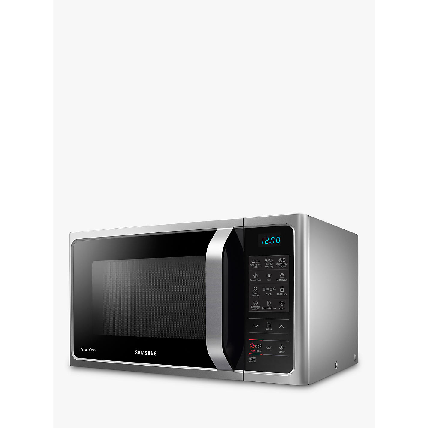 Samsung Mc28h5013as Freestanding Microwave Oven Silver John Smart