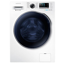 Buy Samsung WD90J6410AW Freestanding Washer Dryer, 9kg Wash/6kg Dry Load, A Energy Rating, 1400rpm Spin, White Online at johnlewis.com