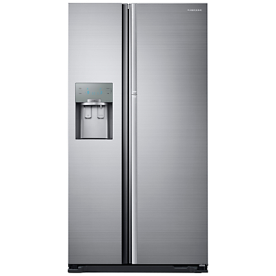 Samsung RH56J69187F Food ShowCase American Style Fridge Freezer, A++ Energy Rating, 91cm Wide, Stainless Steel