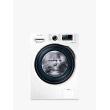 Buy Samsung WW80J6410CW Freestanding Washing Machine, 8kg Load, A+++ Energy Rating, 1400rpm Spin, White Online at johnlewis.com