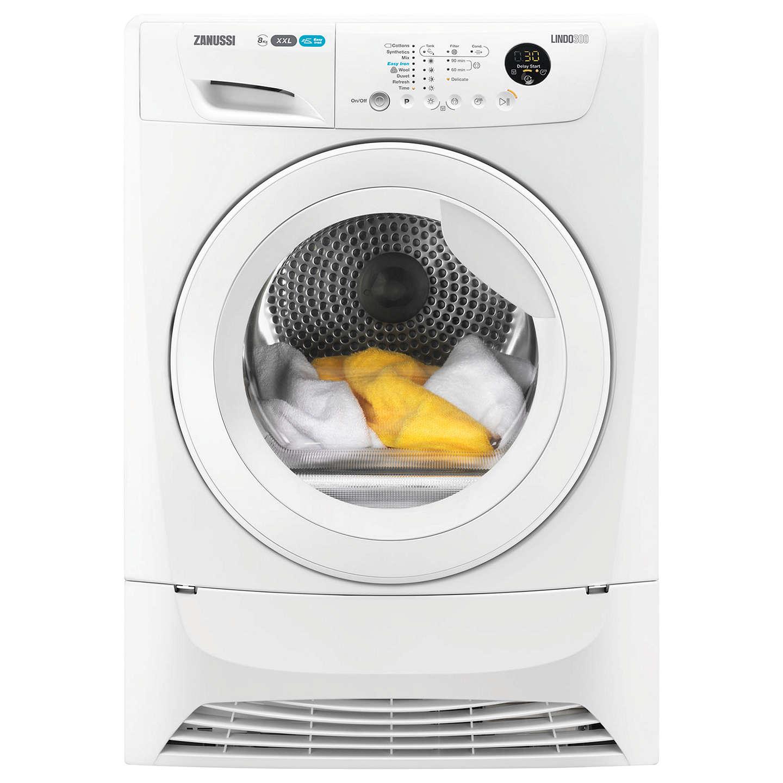 Loading Tumble Dryer ~ Zanussi zdc w condenser tumble dryer kg load b