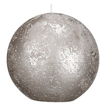 Buy John Lewis Rustic Effect Ball Candle, W10cm Online at johnlewis.com