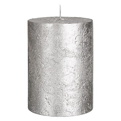 Product photo of John lewis rustic effect pillar candle h10 x dia 7 5cm