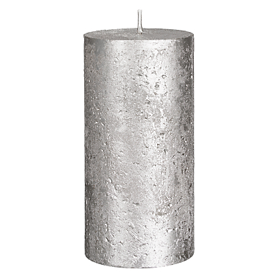 Product photo of John lewis rustic effect pillar candle h15 x dia 7 5cm