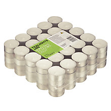 Buy John Lewis The Basics Tealights, Pack of 100 Online at johnlewis.com