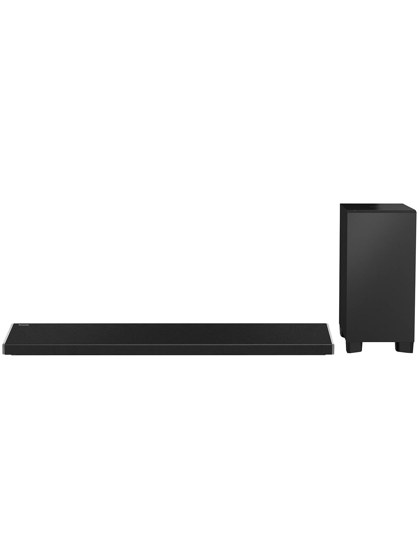 Buy Panasonic ALL70T Multiroom 3.1 Bluetooth NFC Sound Bar with Wireless Subwoofer Online at johnlewis.com