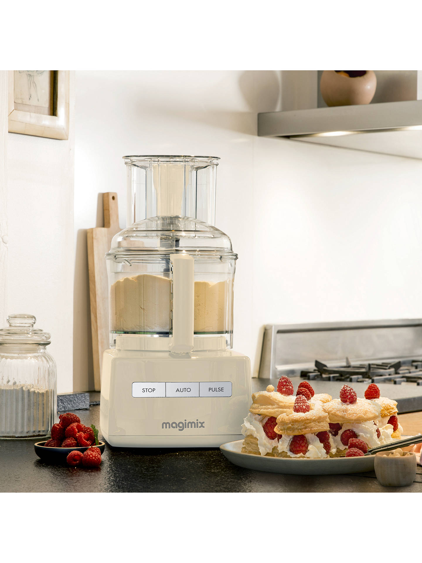 BuyMagimix 5200XL 18583UK BlenderMix Food Processor, Cream Online at johnlewis.com
