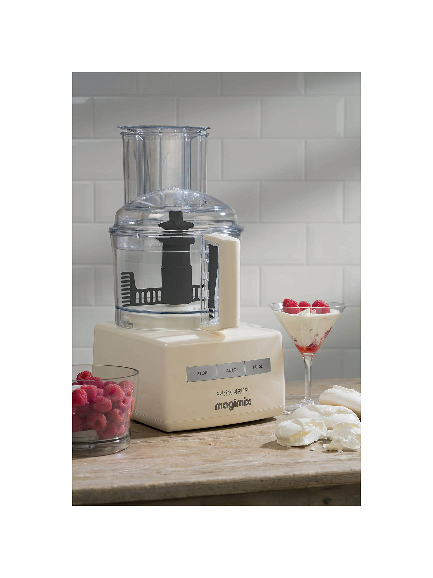 Buy Magimix 4200XL 18475UK BlenderMix Food Processor, Cream Online at johnlewis.com