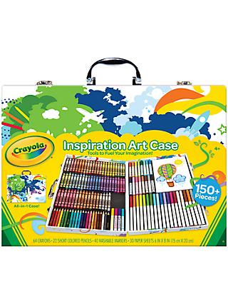 Crayola Inspirational Art Case