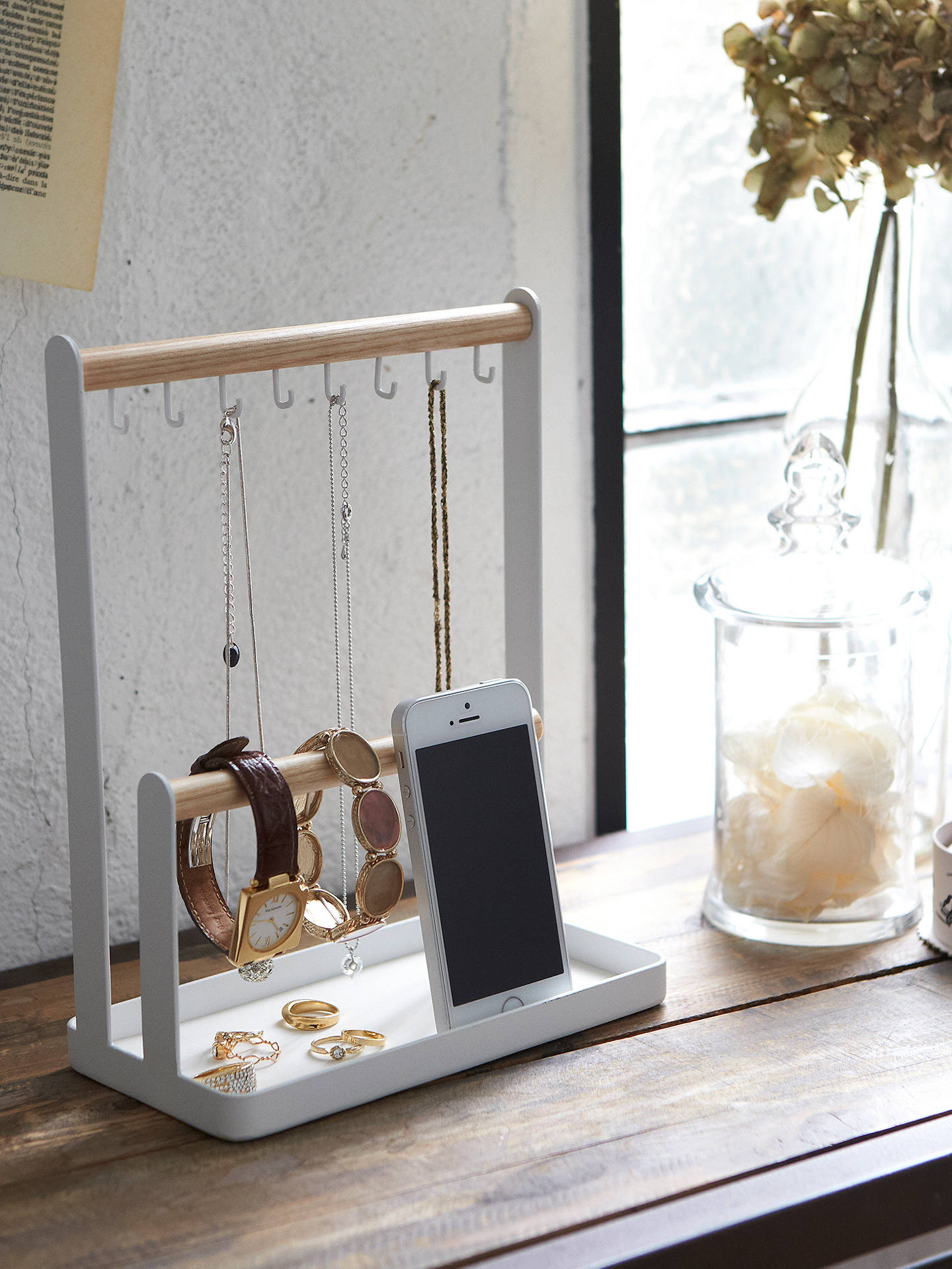 Buy Yamazaki Tosca Accessories Stand Online at johnlewis.com