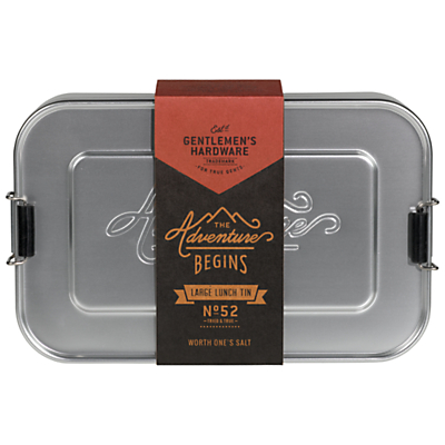 Gentlemen's Hardware Metal Lunch Box, Large
