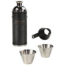 Buy Ted Baker Hip Flask and Cups Online at johnlewis.com