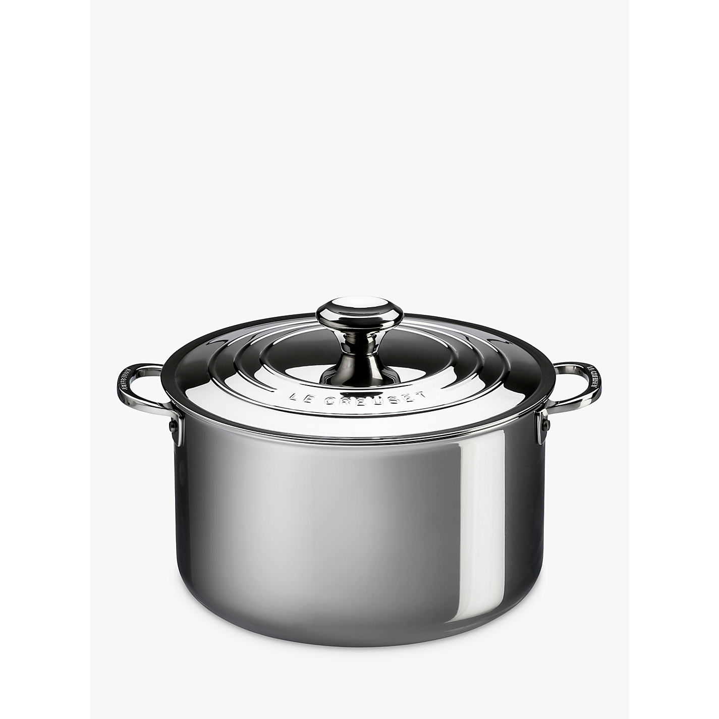 buy le creuset signature 3 ply stainless steel 24cm stockpot