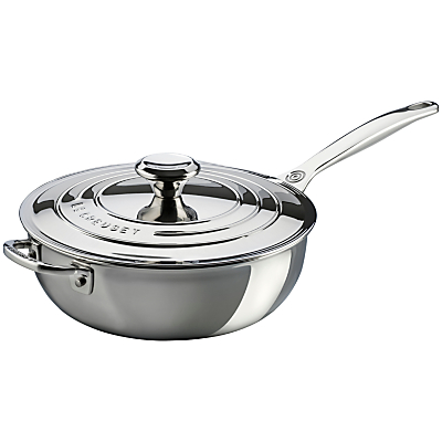 Le Creuset Signature 3-Ply Stainless Steel Non-Stick 24cm Chef
