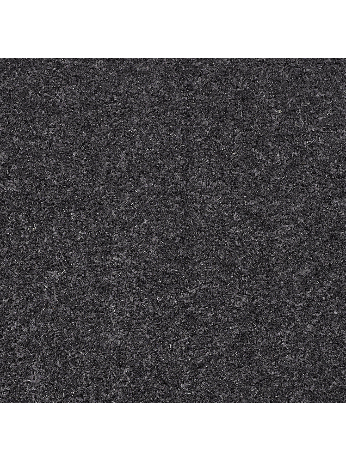 BuyJohn Lewis & Partners New Zealand Wool Rich Plain Twist 40oz Carpet, Dark Steel Online at johnlewis.com