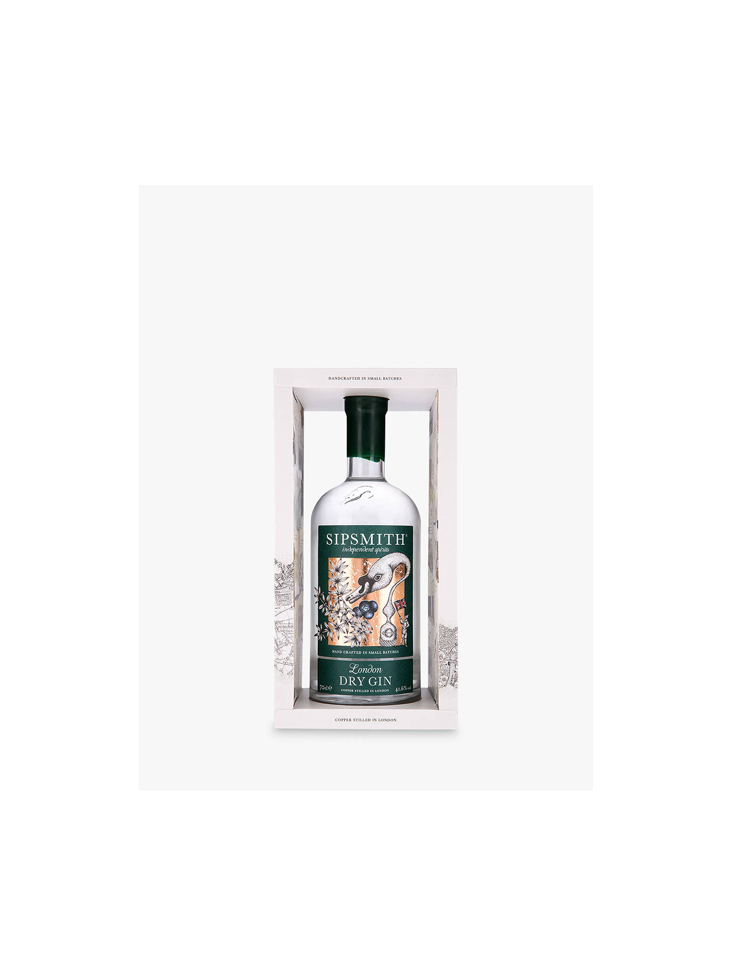 BuySipsmith London Dry Gin Gift Box, 70cl Online at johnlewis.com