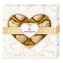Buy Niederegger Milk Chocolate Champagne Hearts Online at johnlewis.com