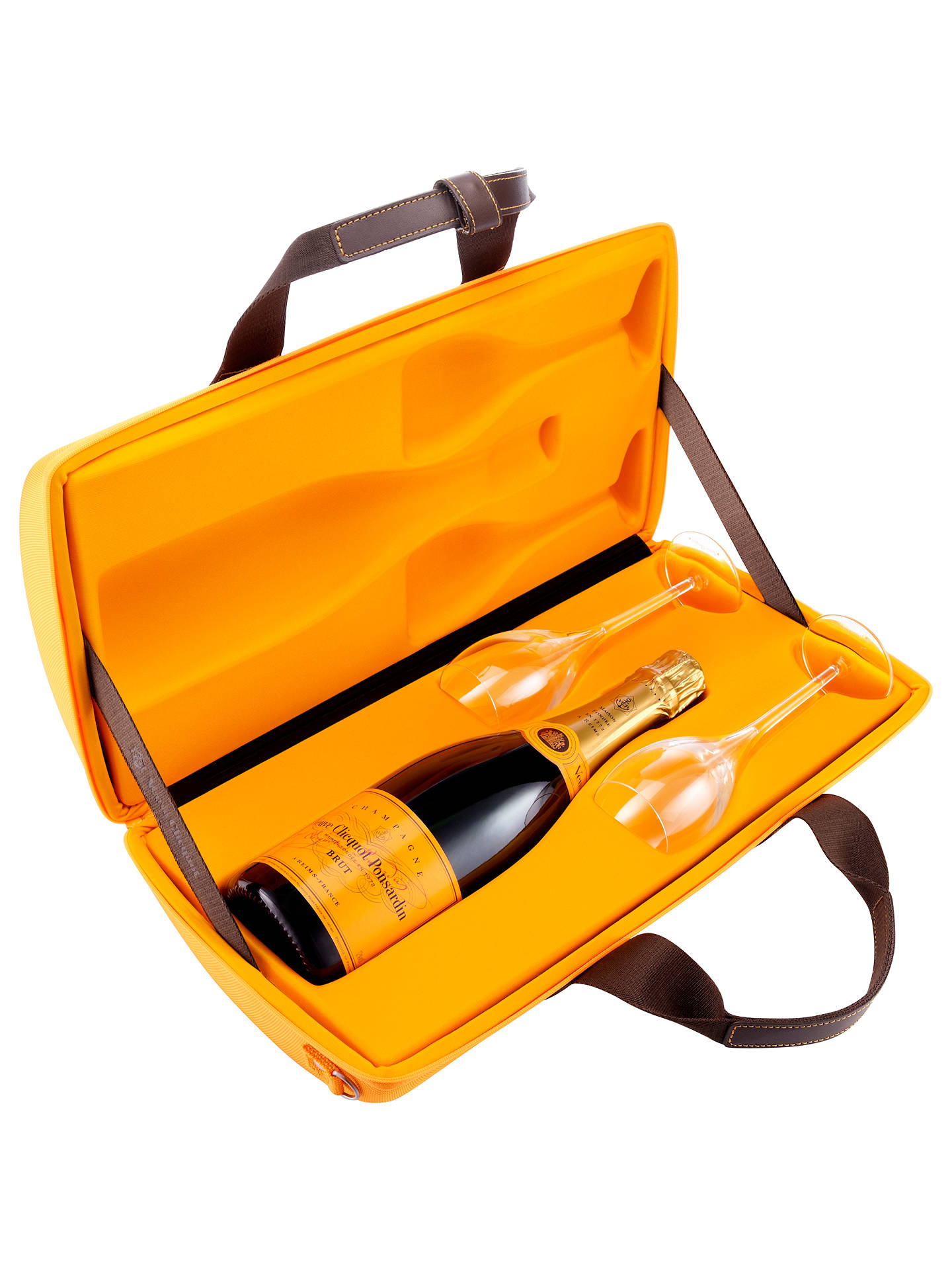 Veuve Clicquot Yellow Label Nv Champagne Traveller Gift