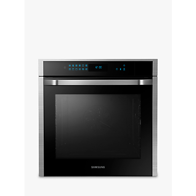 Samsung NV73J7740RS Chef Collection Gourmet Vapour Technology™ Single Oven, Touch LED, Stainless Steel