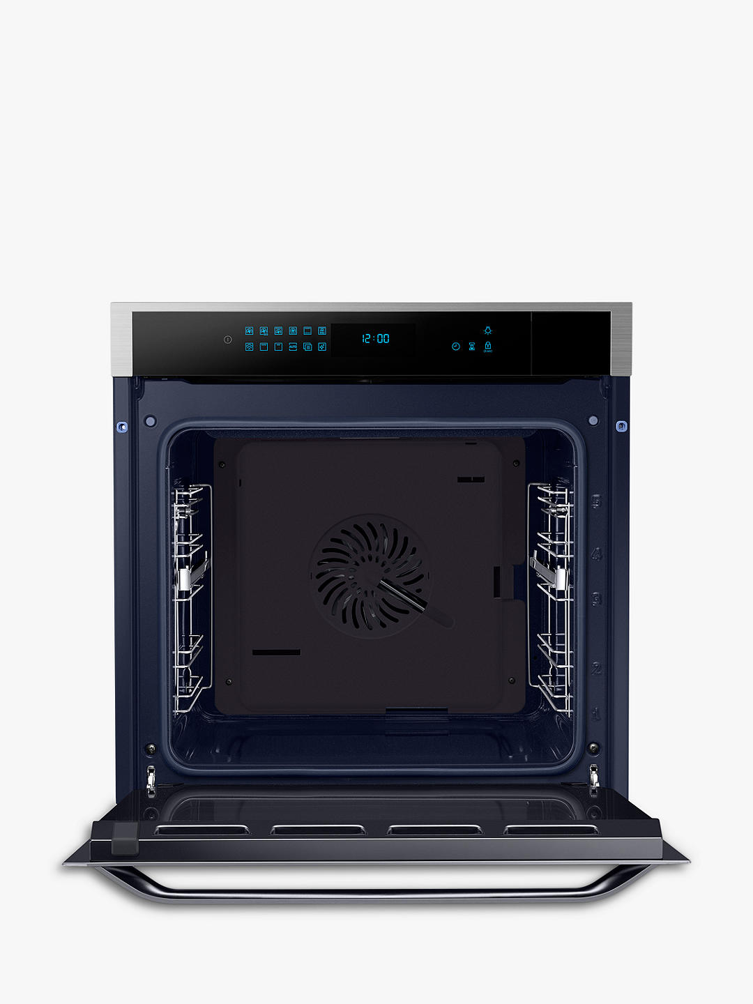 Buy Samsung NV73J7740RS Chef Collection Gourmet Vapour Technology™ Single Oven, Touch LED, Stainless Steel Online at johnlewis.com