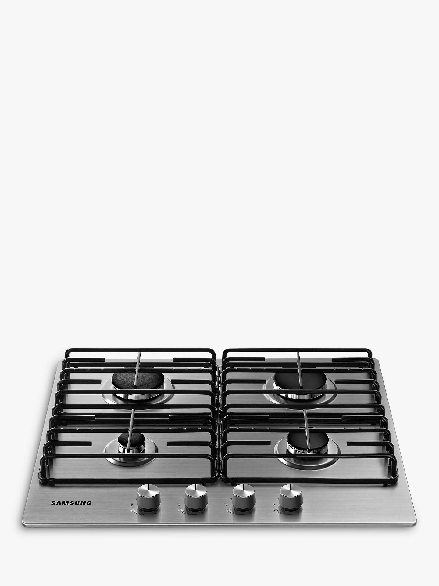 Buy Samsung NA64H3110AS Gas Hob, Stainless Steel Online at johnlewis.com