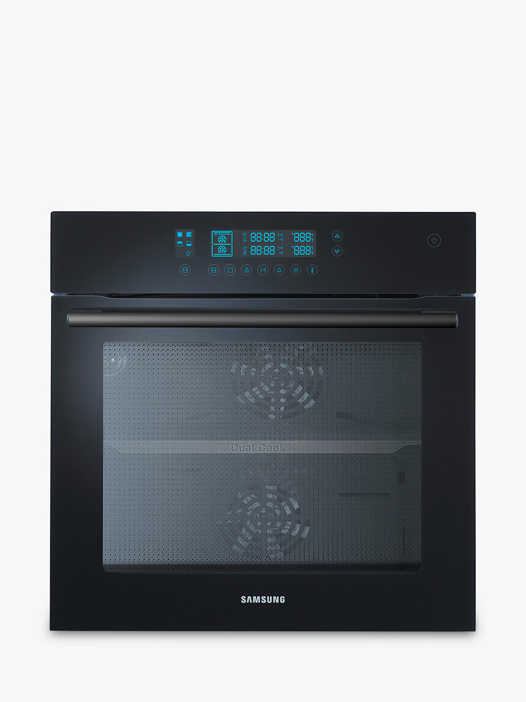 Buy Samsung NV70F5787LB Electric Oven, Black Glass Online at johnlewis.com