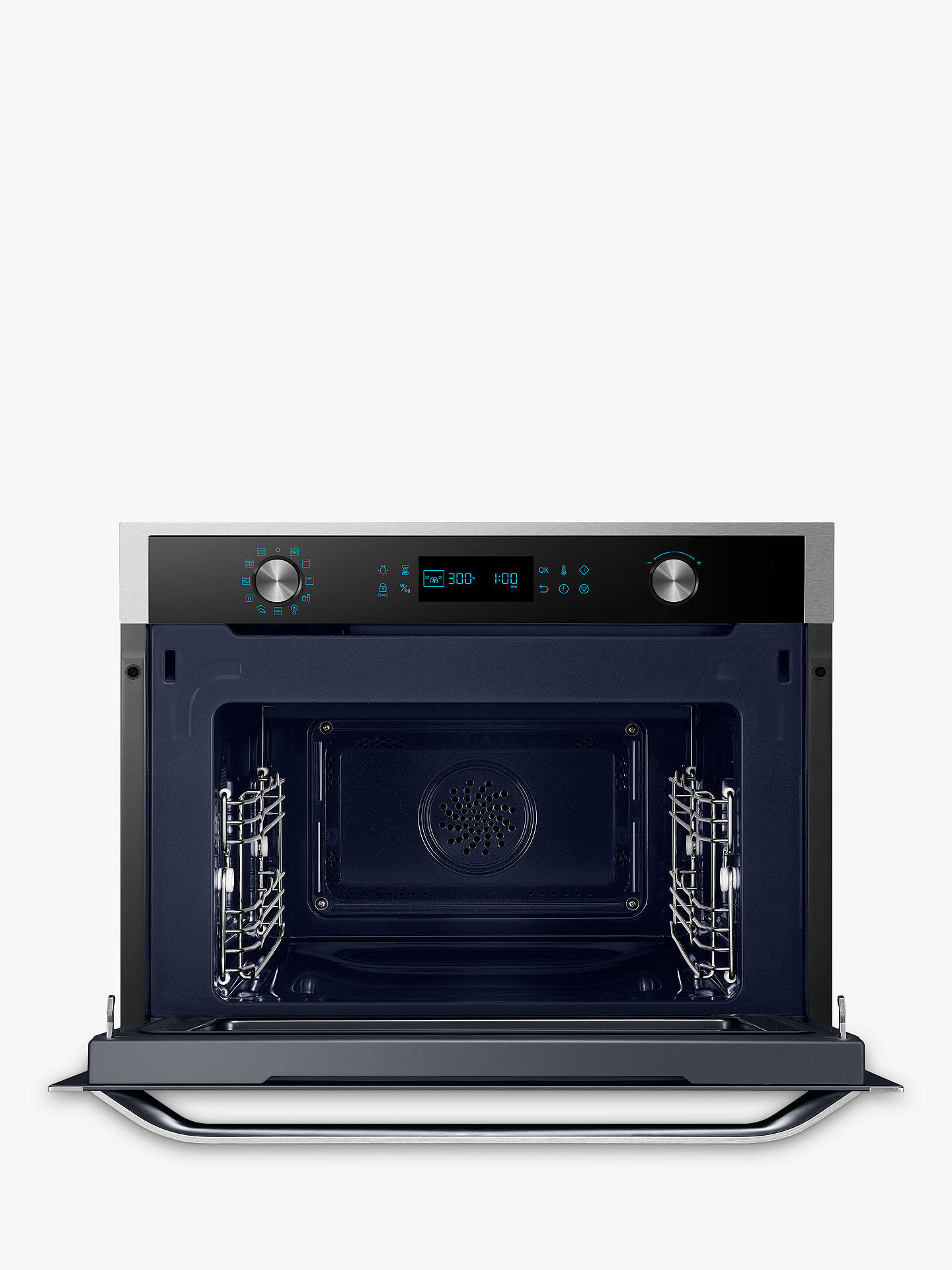 BuySamsung NQ50J5530BS Chef Collection Compact Oven, Touch LED, Stainless Steel Online at johnlewis.com