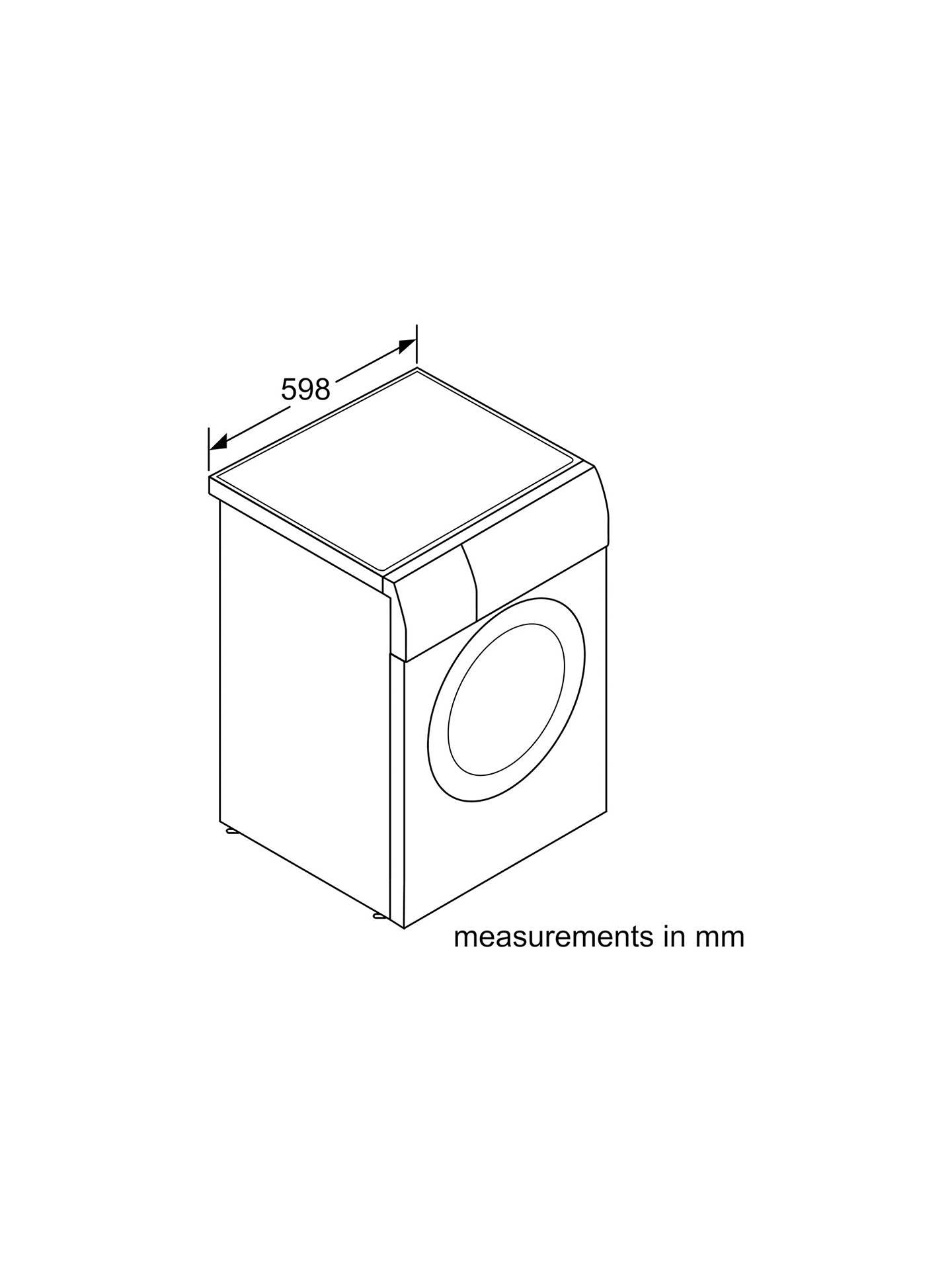 Bosch WVG30461GB Freestanding Washer Dryer, 8kg Wash/5kg