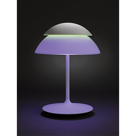 buy philips hue beyond led table lamp john lewis. Black Bedroom Furniture Sets. Home Design Ideas