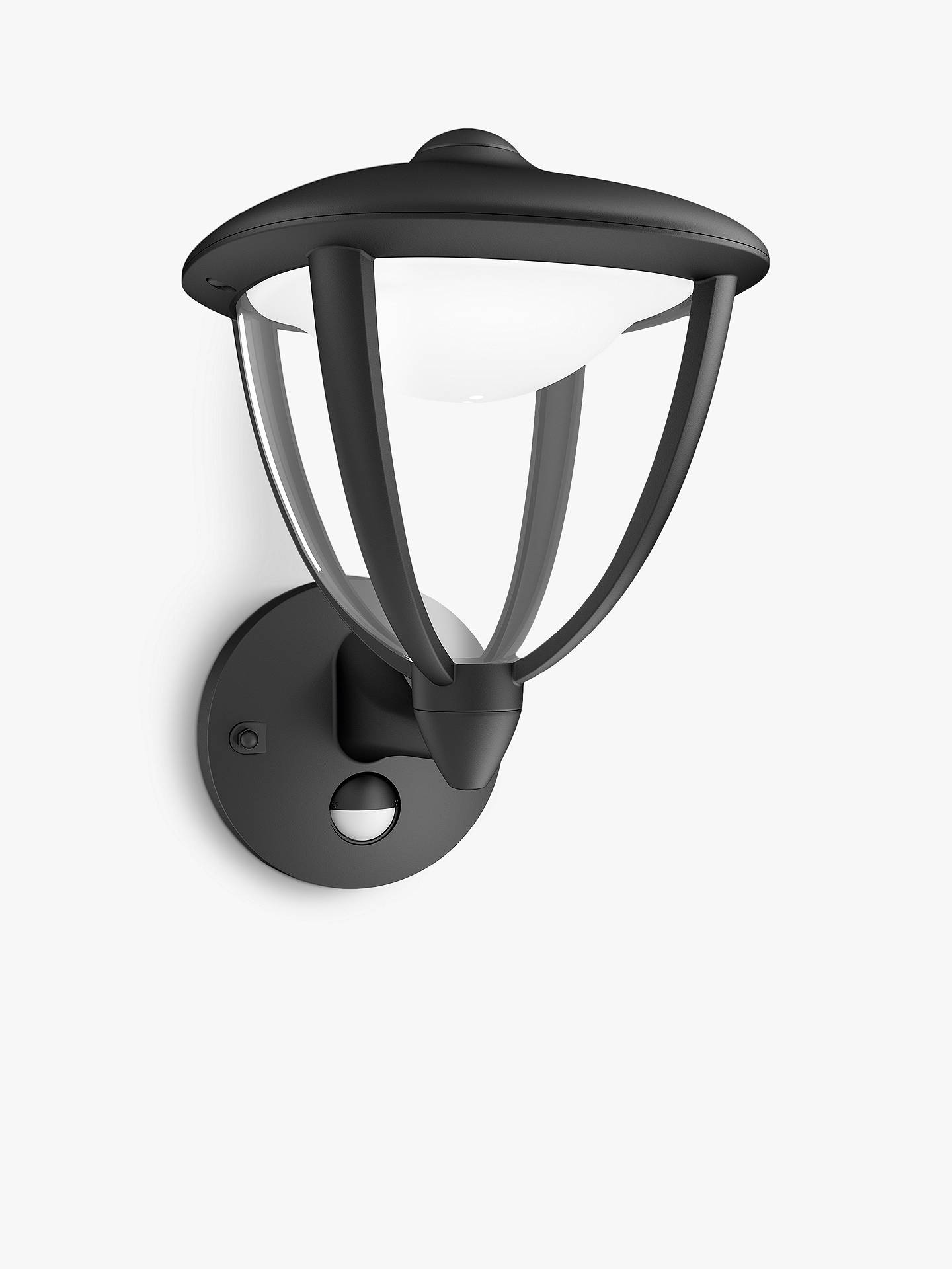 BuyPhilips myGarden Robin LED/PIR, Black Online at johnlewis.com