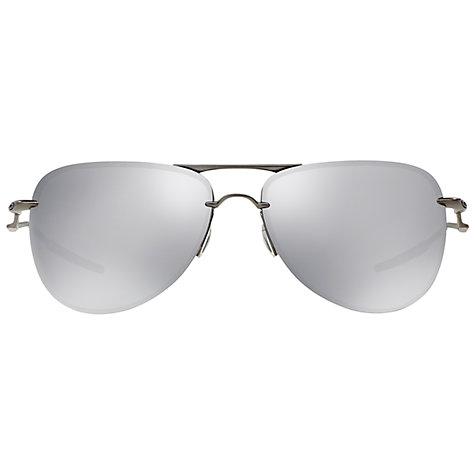 oakley sunglasses silver  Buy Oakley OO4086 Tailpin Sunglasses, Silver