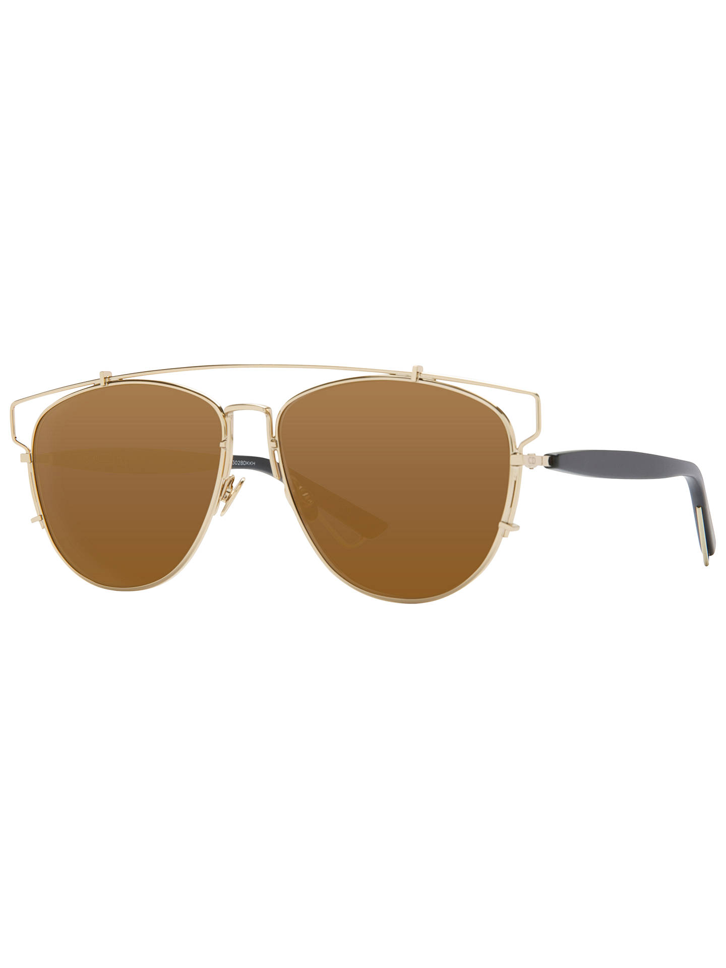 179cd62db59c Christian Dior Dior Technologic Pilot Sunglasses at John Lewis ...