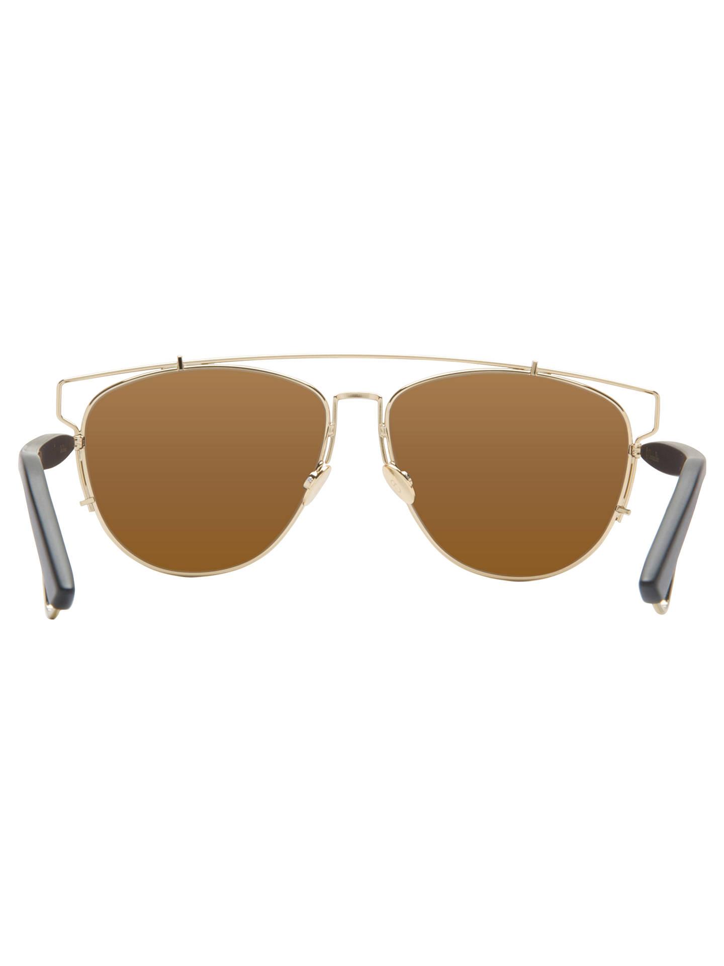 4a0facdf435c8 Christian Dior Dior Technologic Pilot Sunglasses at John Lewis ...