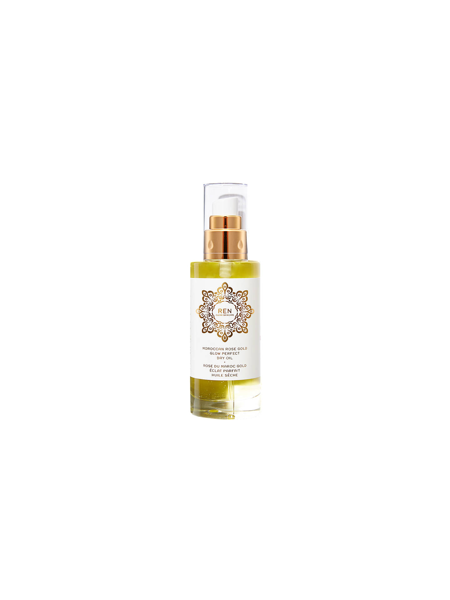 Buy REN Rose Gold Glow Perfect Dry Oil Spray, 100ml Online at johnlewis.com