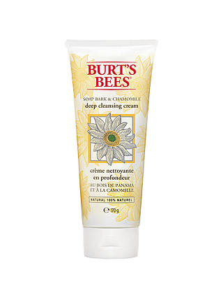 Buy Burt's Bees Soap Bark & Chamomile Deep Cleansing Cream, 170g Online at johnlewis.com