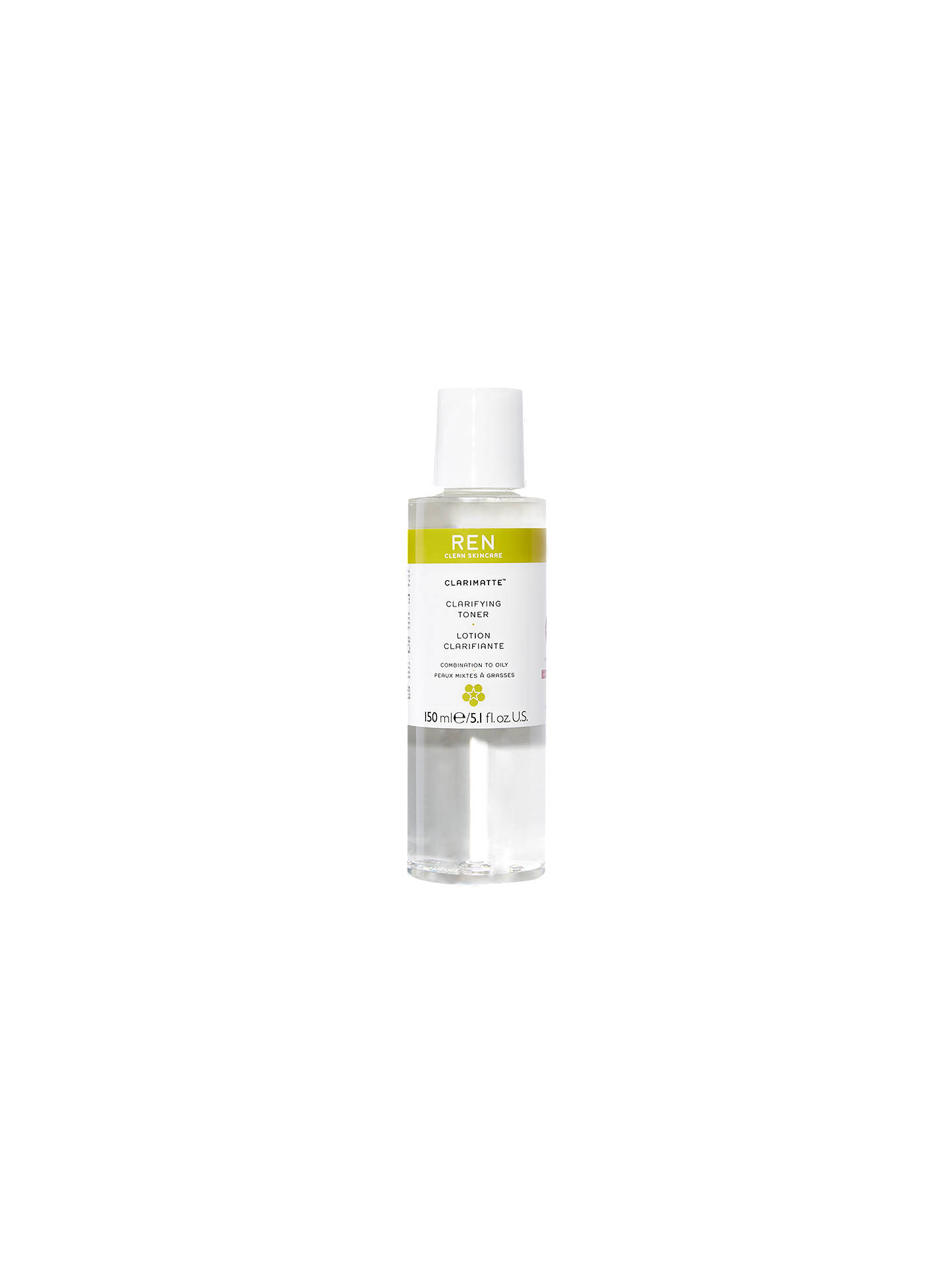 Buy REN Clarimatte Clarifying Facial Toner, 150ml Online at johnlewis.com