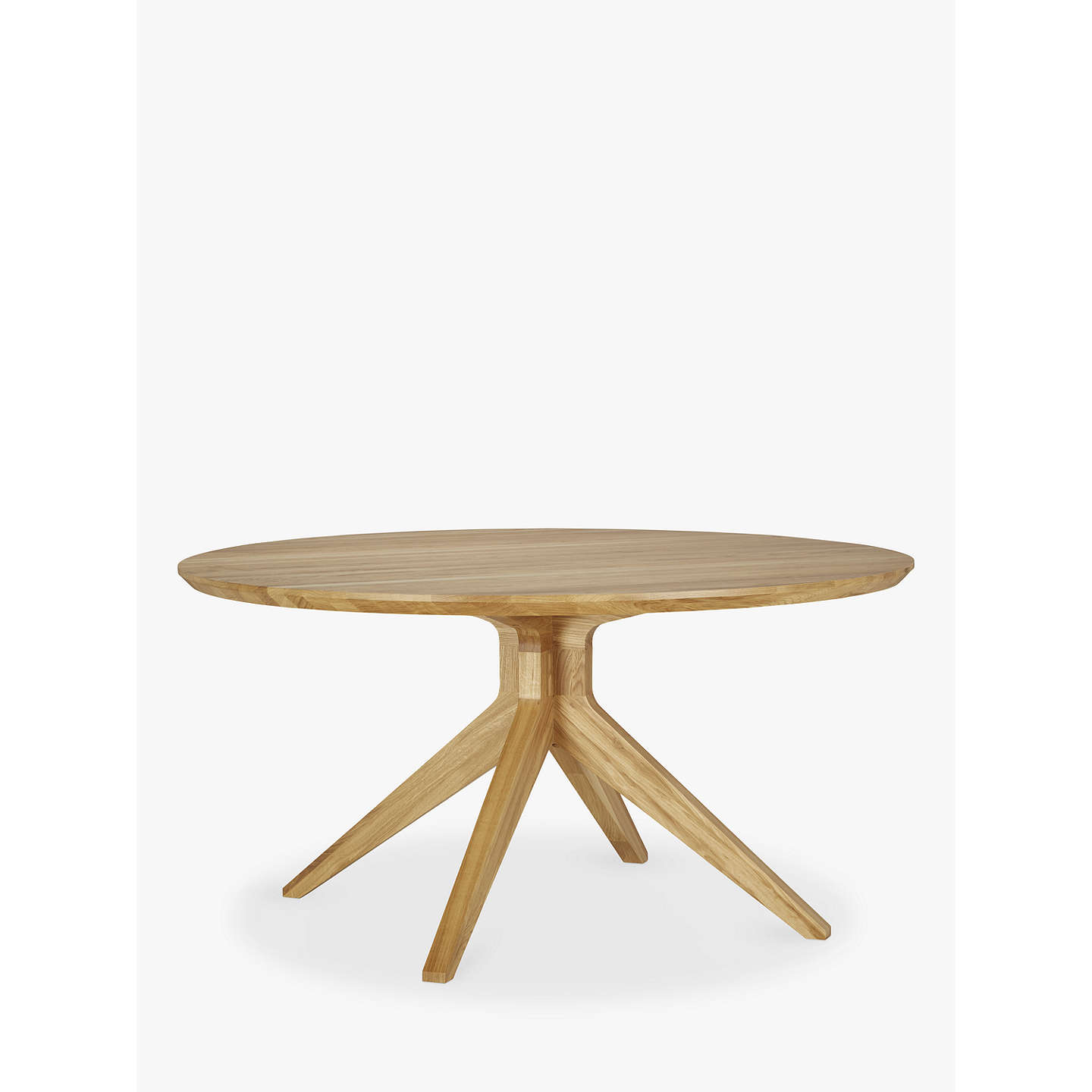 6 Seater Round Dining Table: Matthew Hilton For Case Cross 6-Seater Round Dining Table