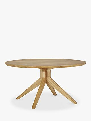 Matthew Hilton for Case Cross 6-Seater Round Dining Table, Oak