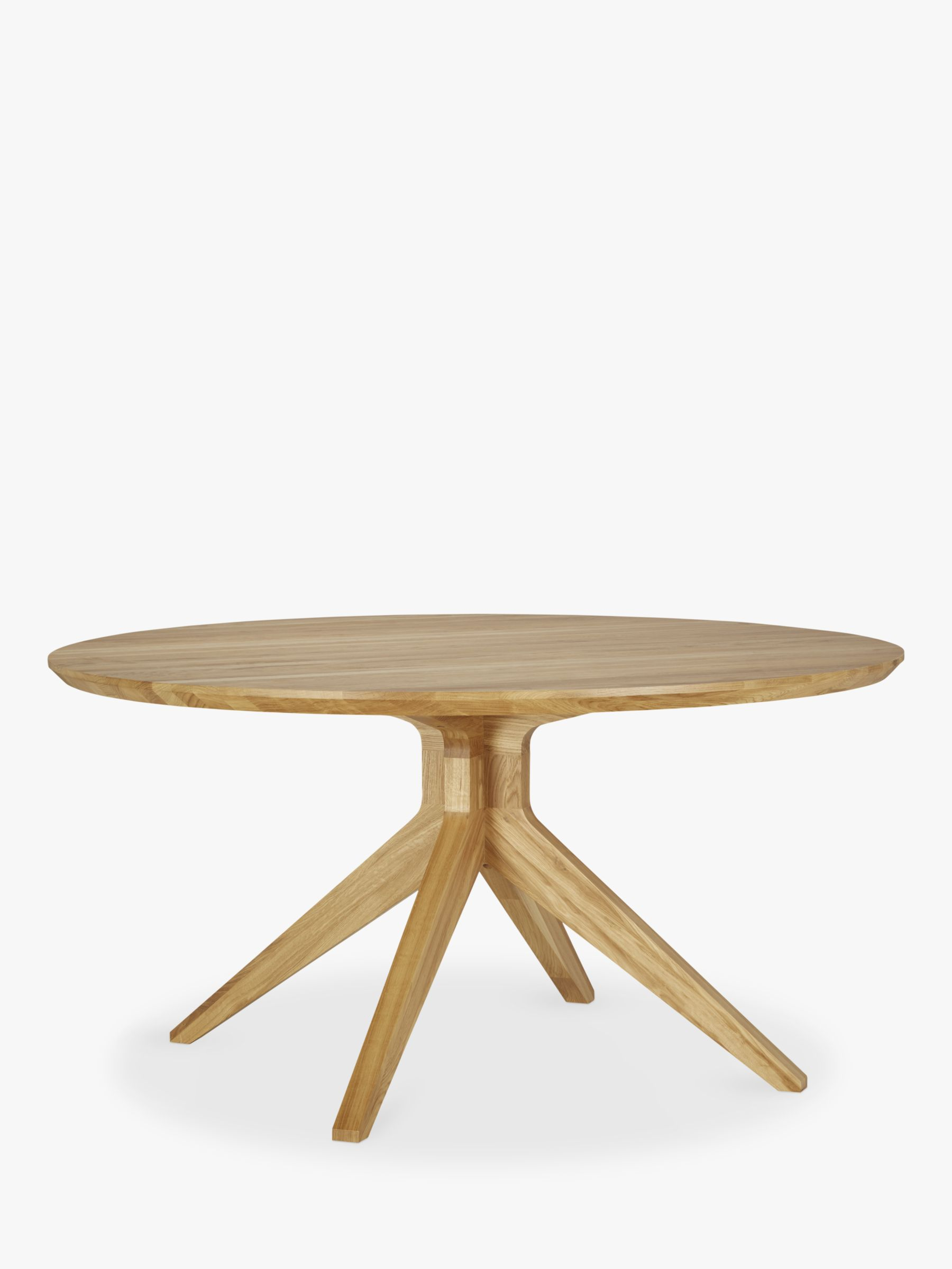 Case Matthew Hilton for Case Cross 6-Seater Round Dining Table, Oak