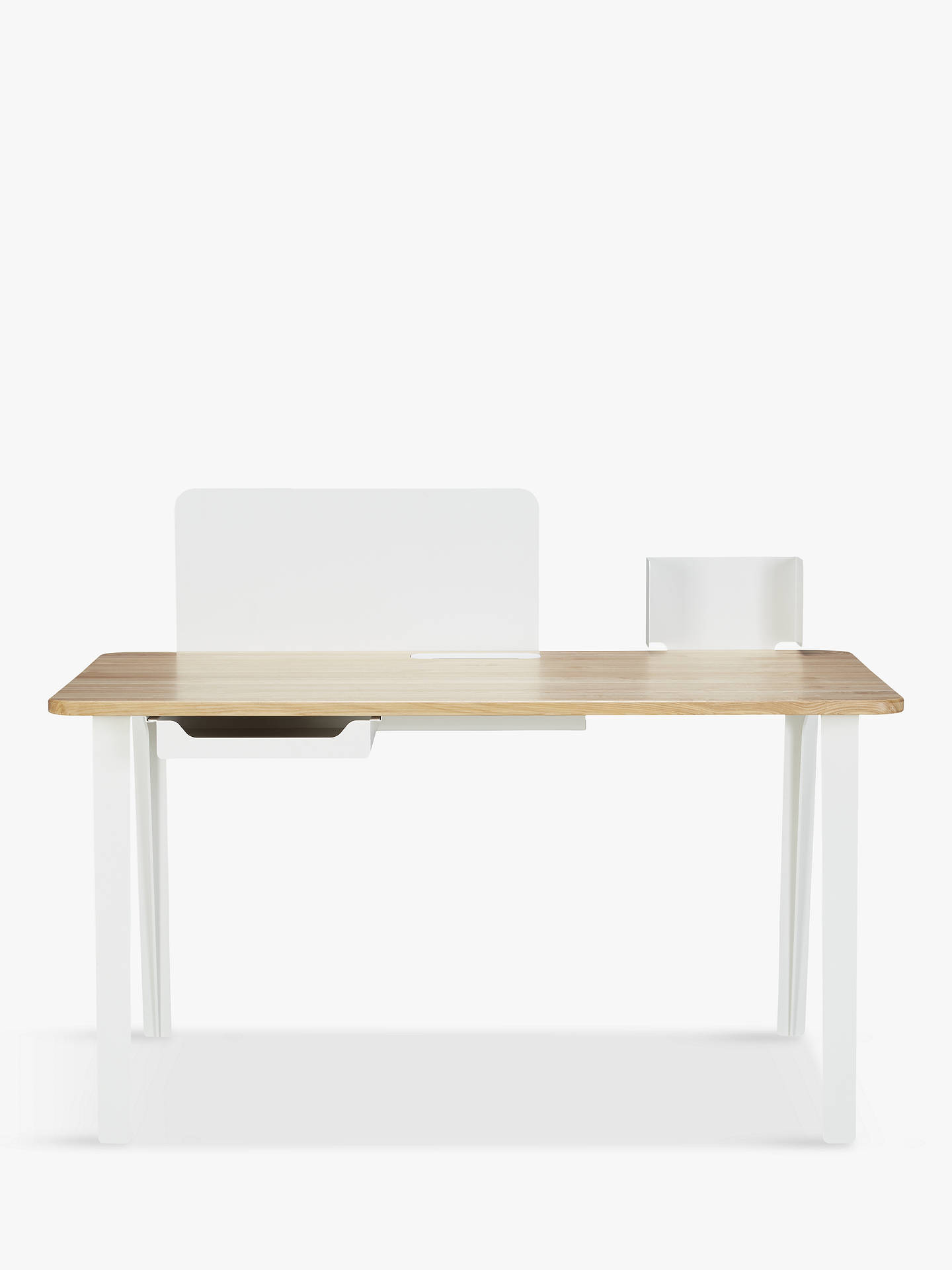 BuySamuel Wilkinson for Case Mantis Desk, Ash Online at johnlewis.com
