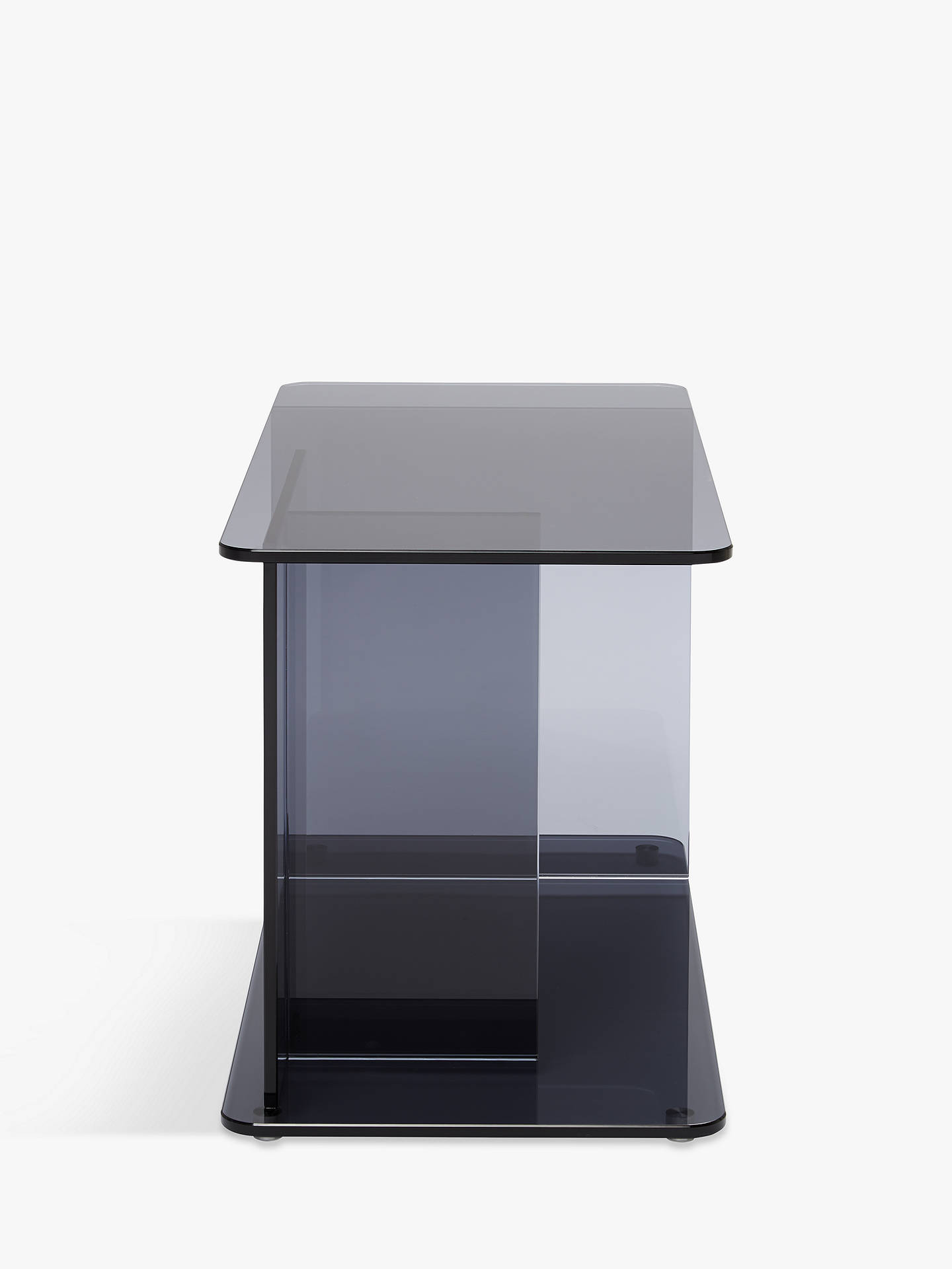 Buy Matthew Hilton for Case Lucent Large Side Table, Smoke Online at johnlewis.com