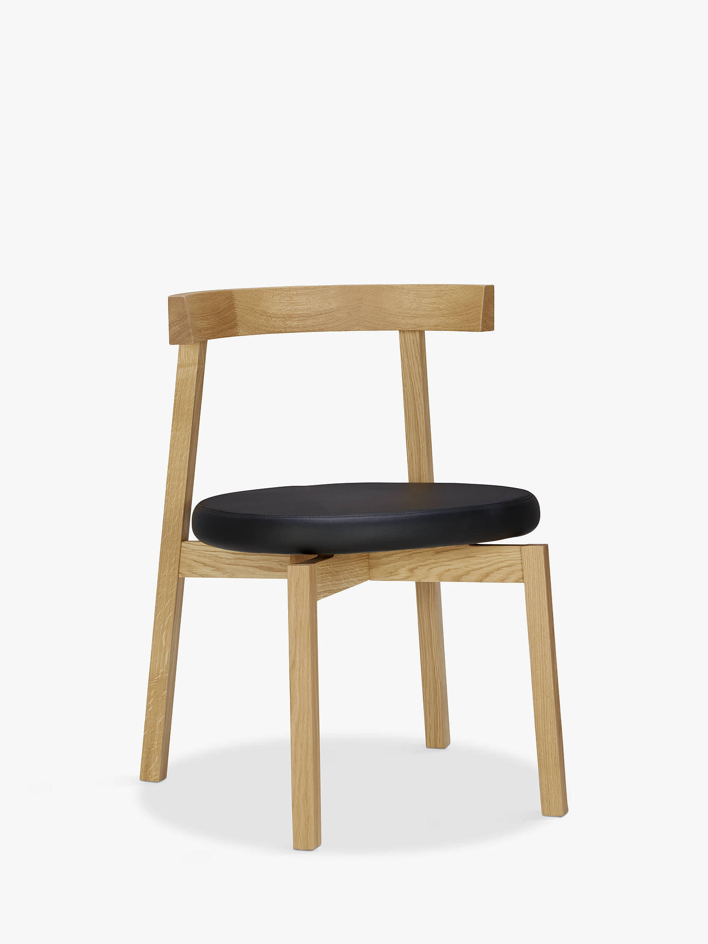 Buy Nazanin Kamali for Case Oki-Nami Dining Chair, Oak Online at johnlewis.com