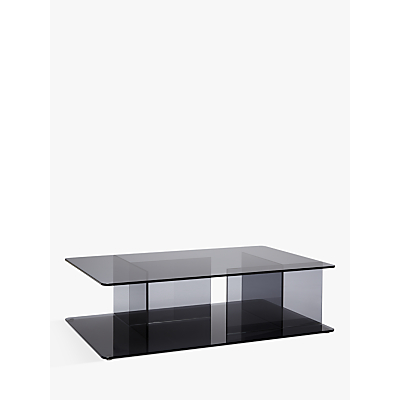 Matthew Hilton for Case Lucent Glass Coffee Table, Smoke