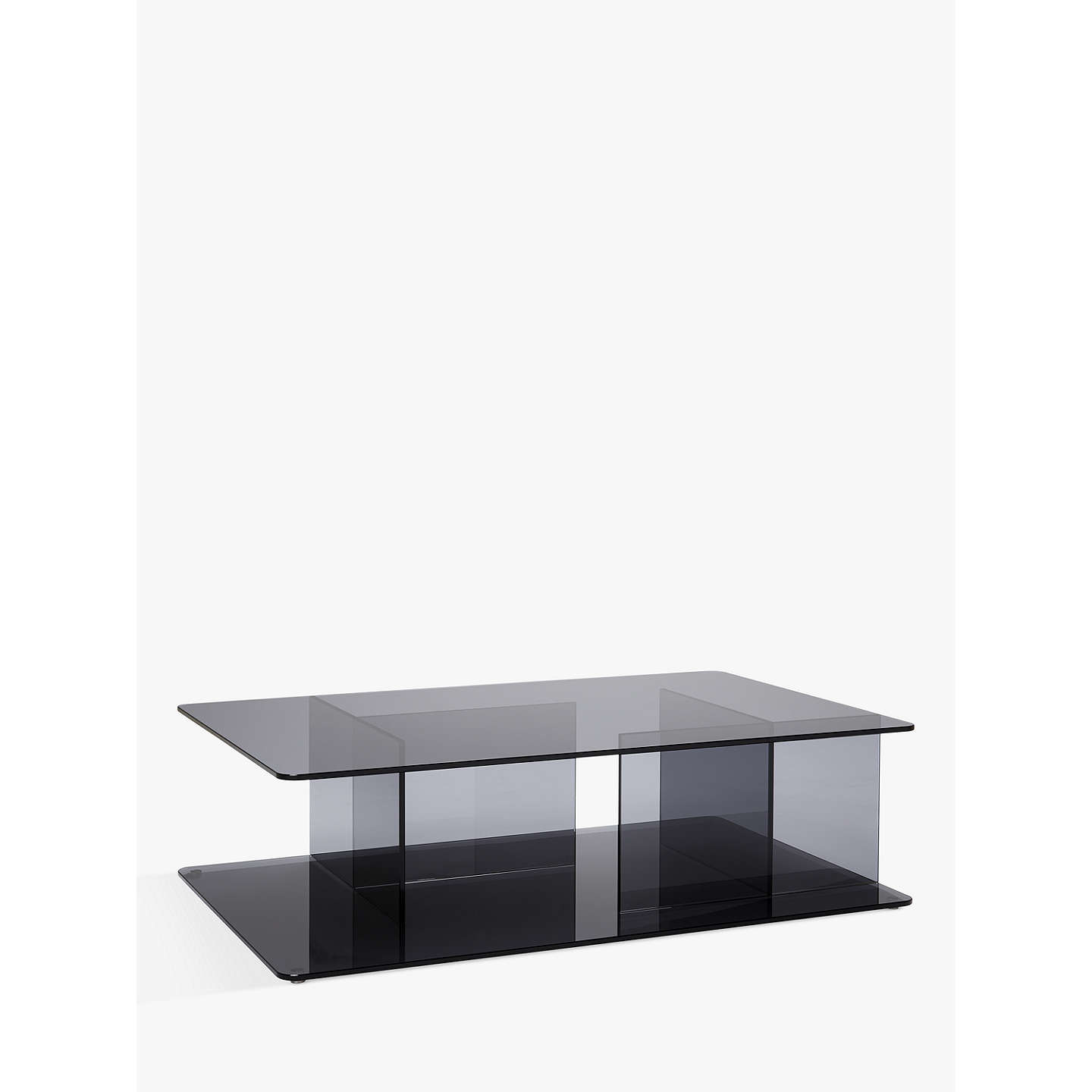 Matthew Hilton For Case Lucent Glass Coffee Table Smoke At Johnlewis Com