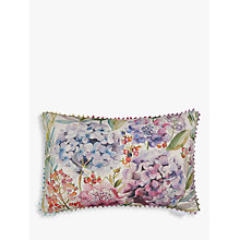 Buy Voyage Hydrangea Cushion, Multi Online at johnlewis.com
