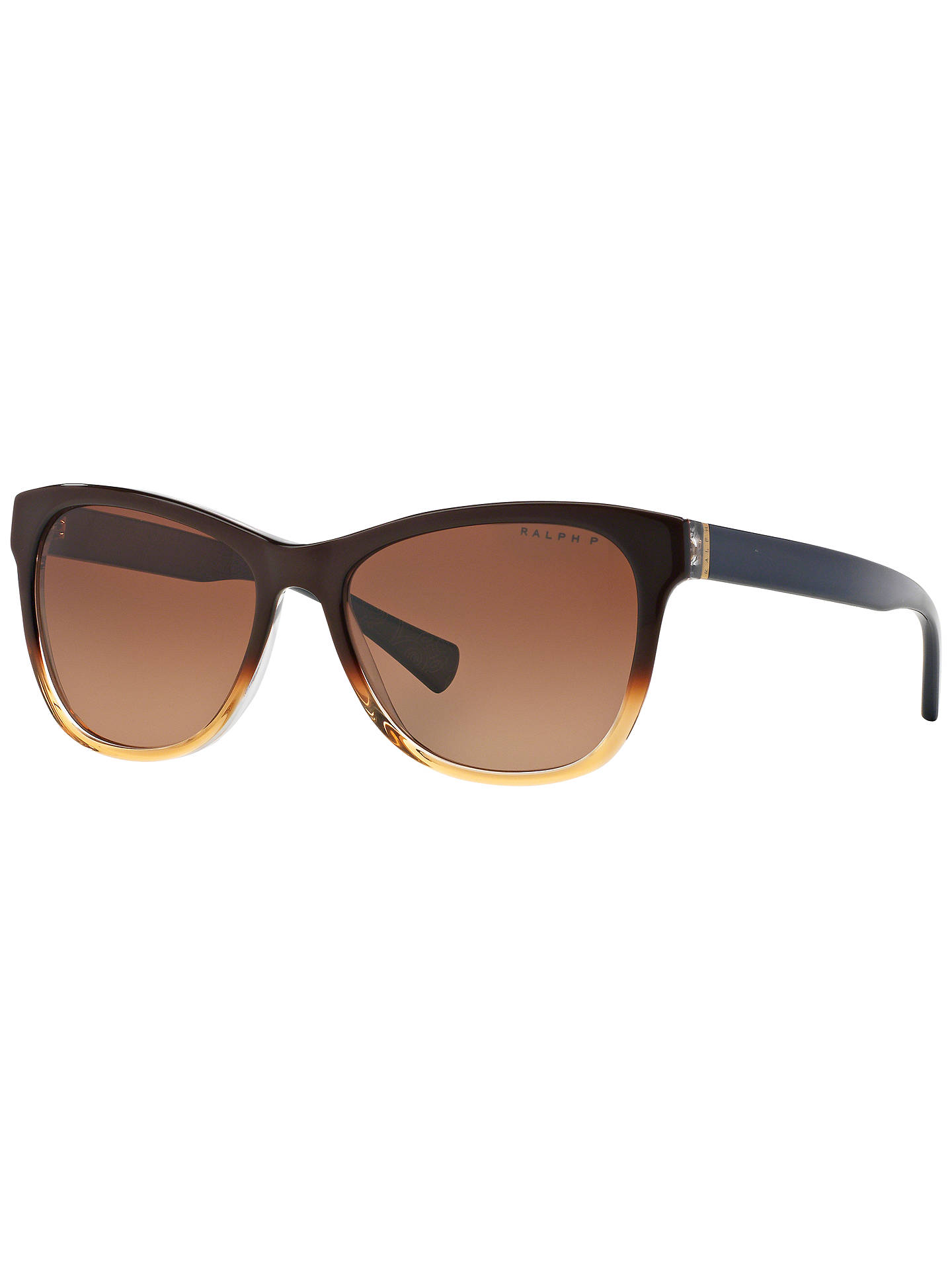 Ralph RA5196 Polarised Square Framed Sunglasses at John Lewis & Partners