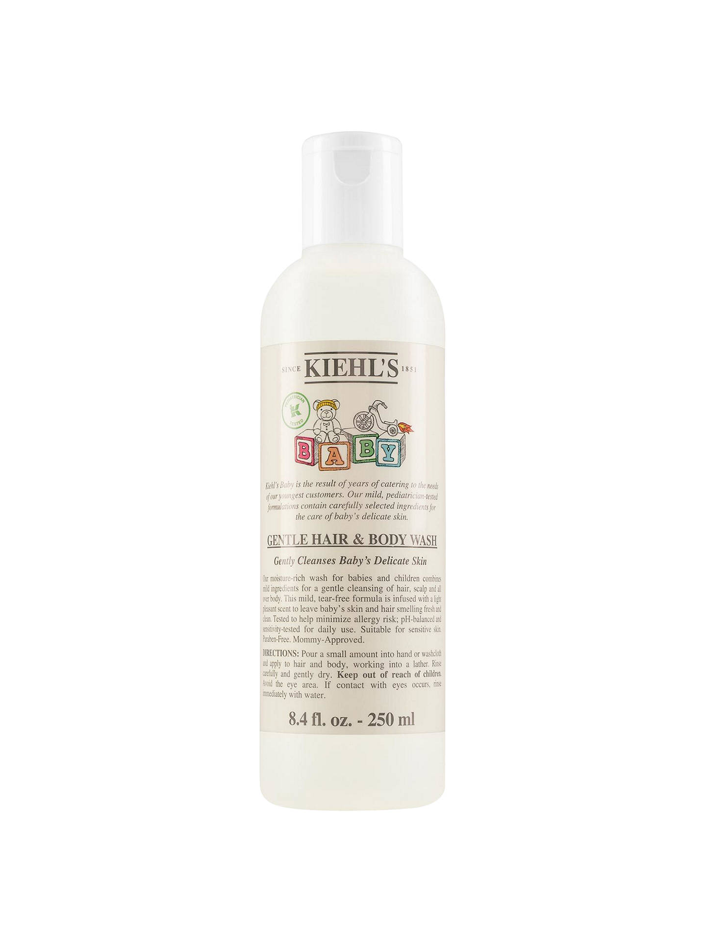 Buy Kiehl's Baby Gentle Hair & Body Wash, 250ml Online at johnlewis.com